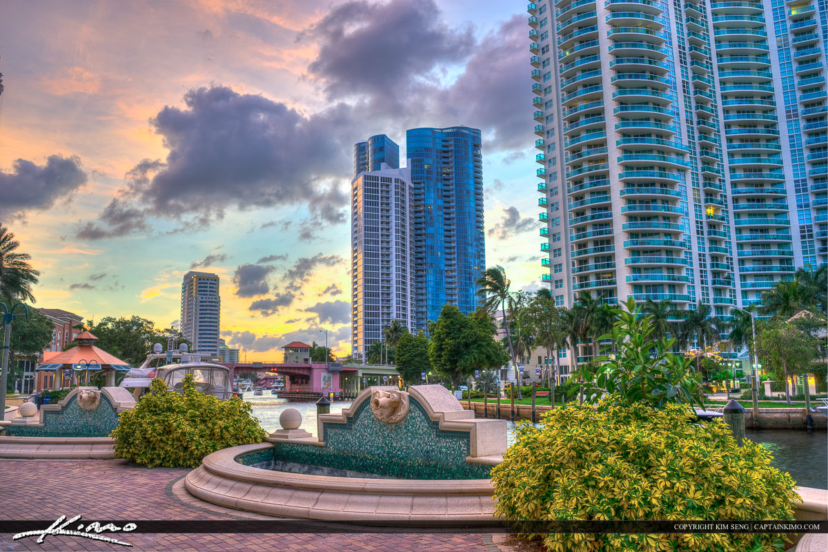 The New River Fort Lauderdale Florida Broward County