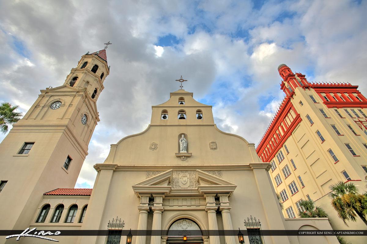 City Buildings Castillo de San Marcos Fort St. Augustine Fl