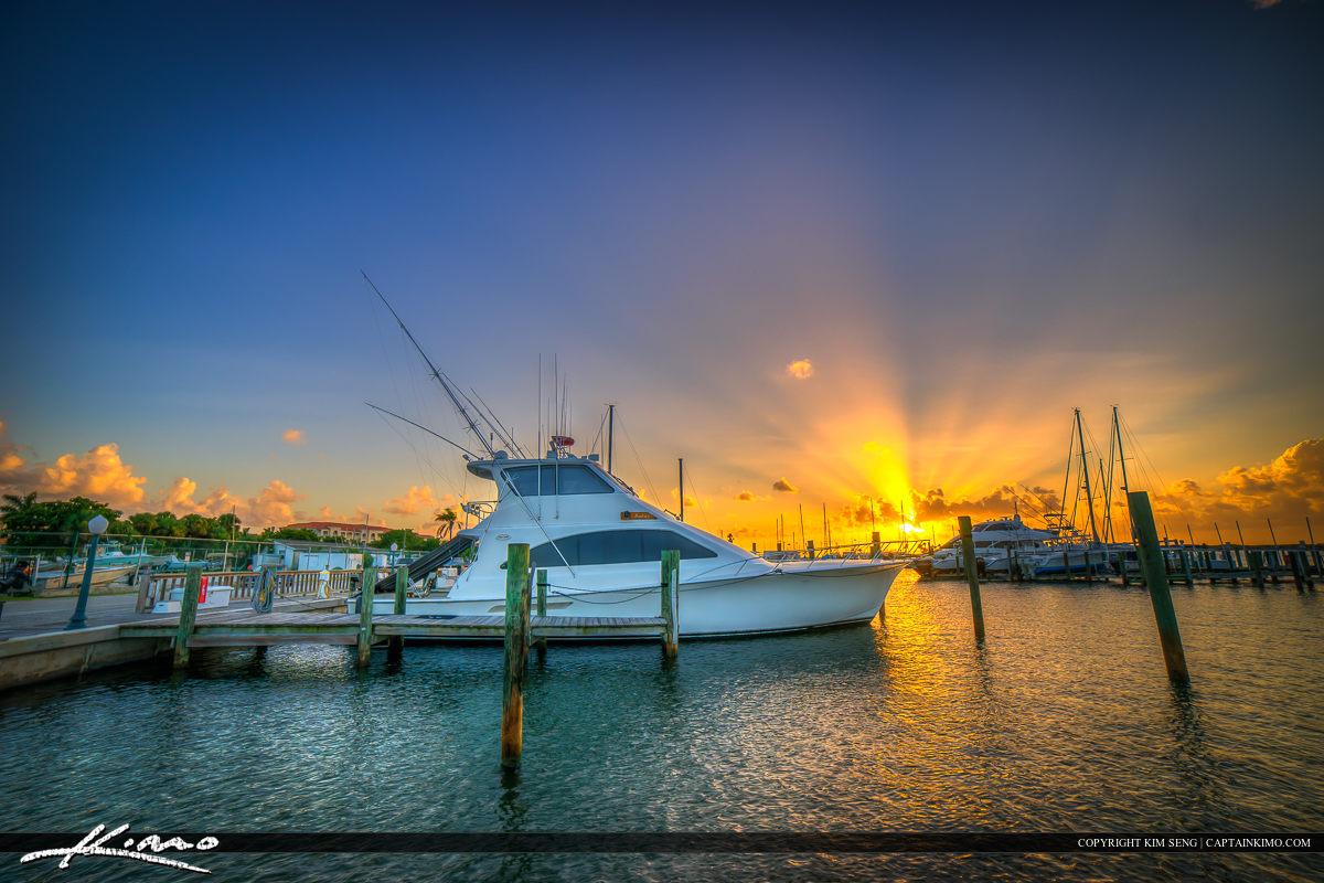 Fort Pierce Marina Sunset Yacht