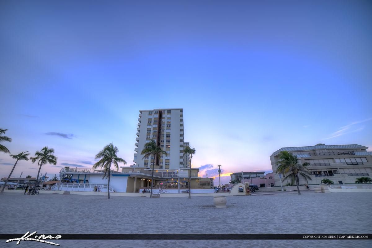 Hollywood Florida Buildings at Beach