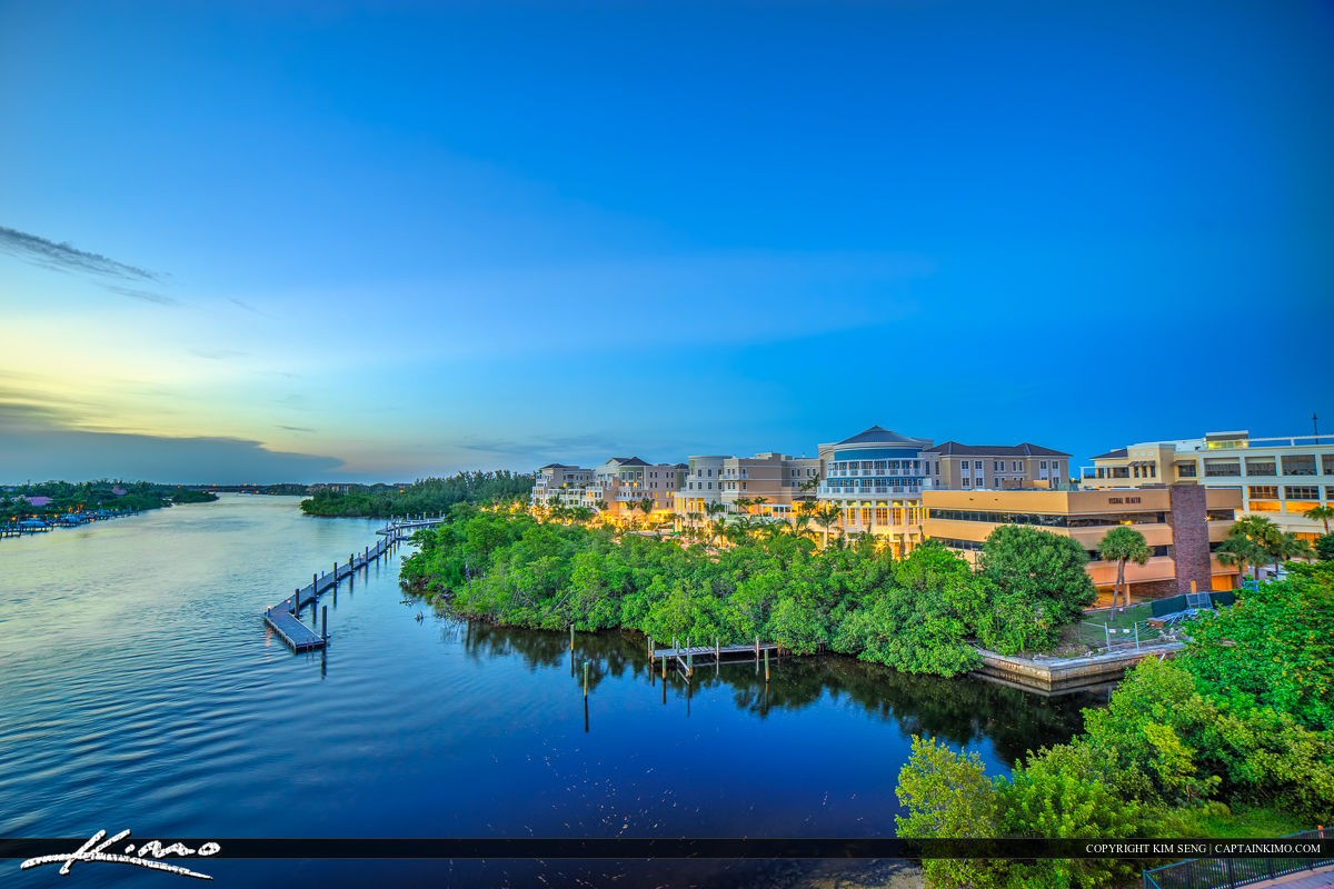 Harborside Place Jupiter Florida in Palm Beach County
