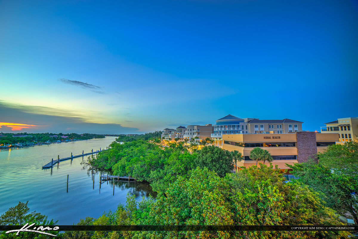 Harborside Place Jupiter Florida Intracoastal Waterway