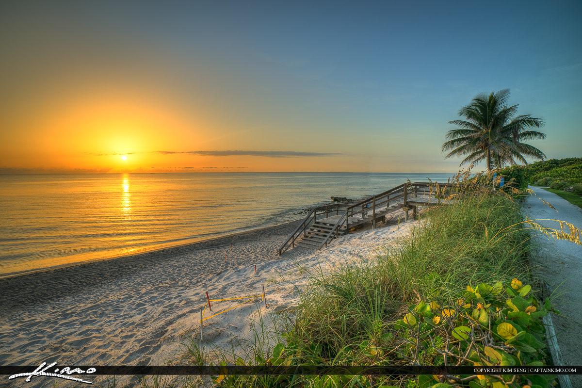 Florida Beach Sunrise at Tequesta
