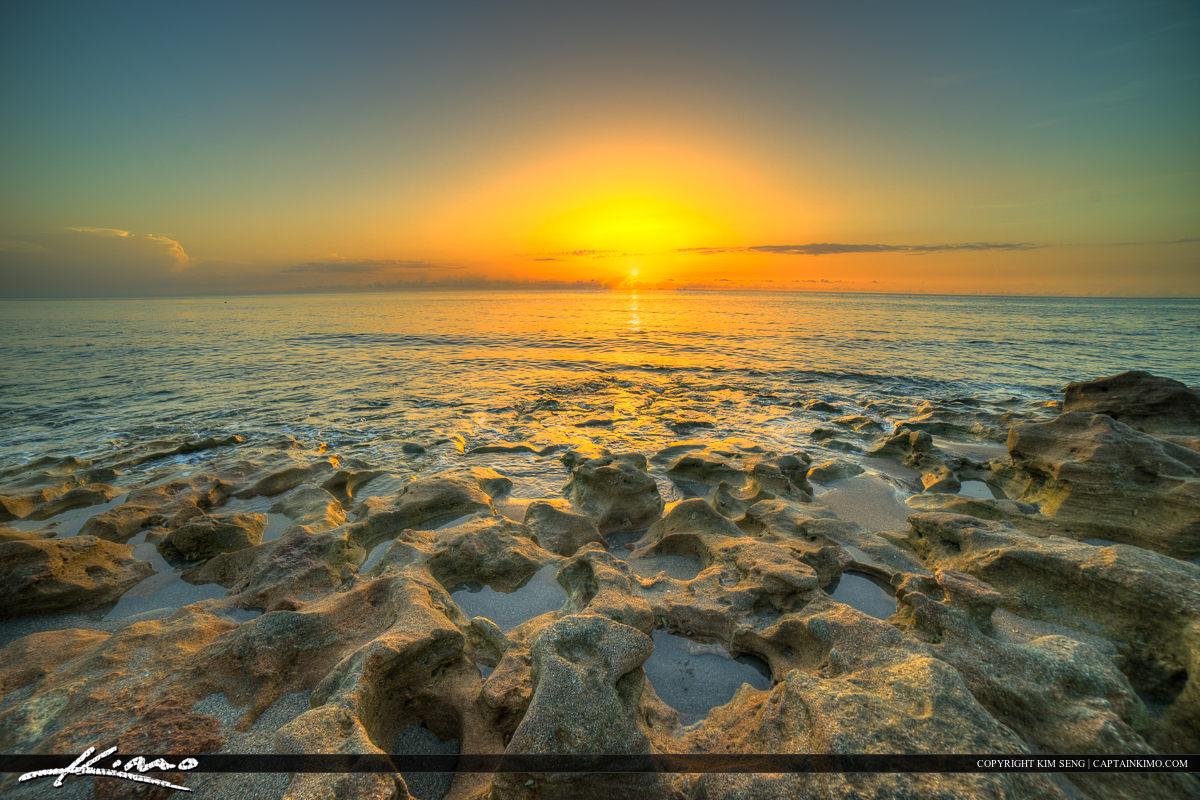 Florida Beach Sunrise Jupiter Island