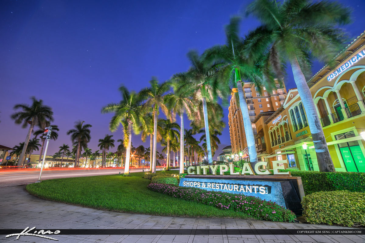 Cityplace West Palm Beach Shopping and Restaurants