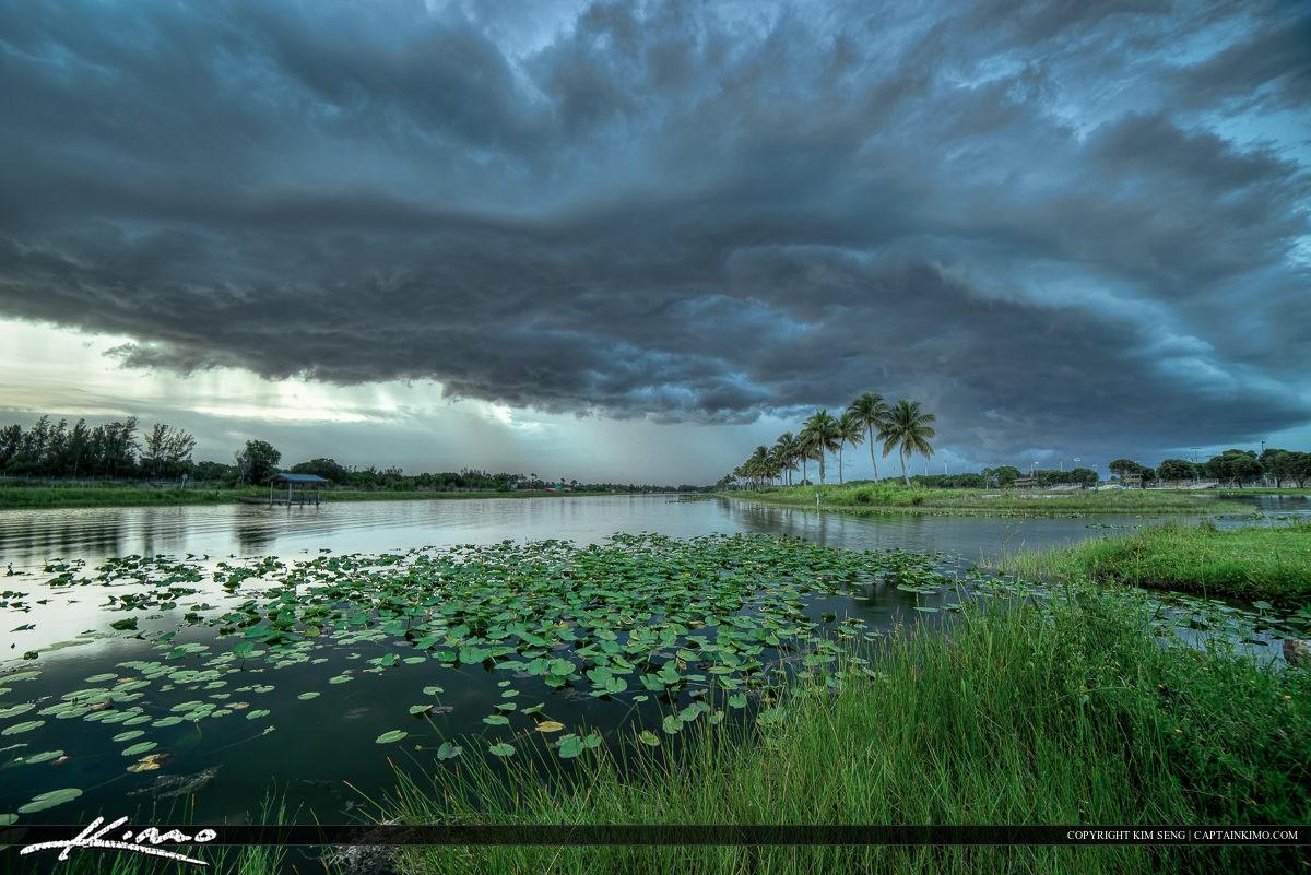 Okeeheelee Park Storm at Lake