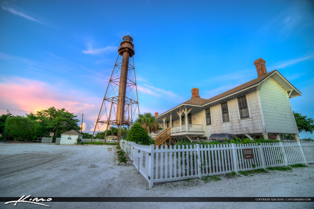 Sanibel Lighthouse at the House on the Island