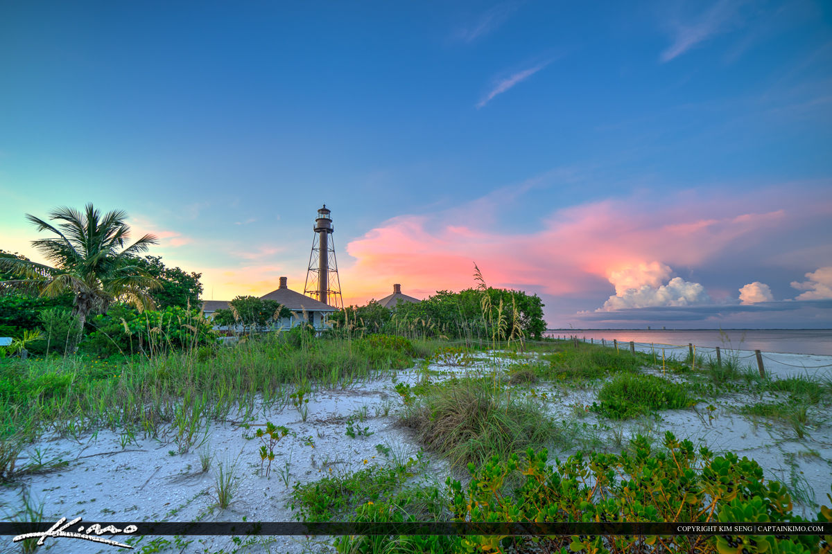 Sanibel Lighthouse at Sanibel Island Lee County