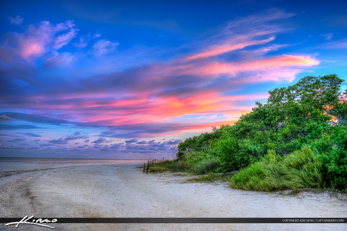 Sanibel Island Beautiful Colors at Beach