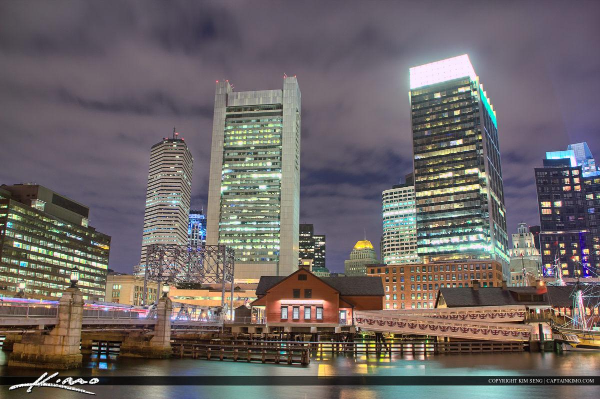 Boston City Downtown Tourist Attraction