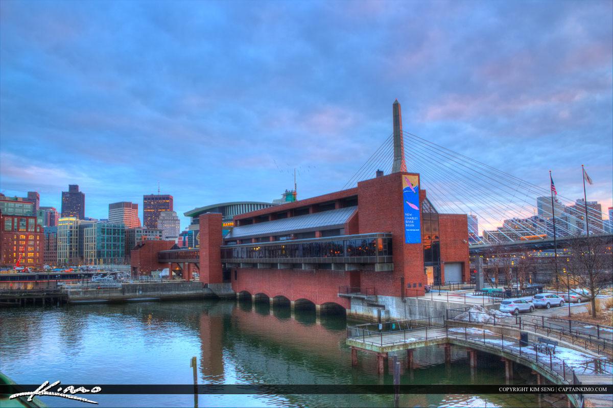 Boston City Downtown Charles River Mason