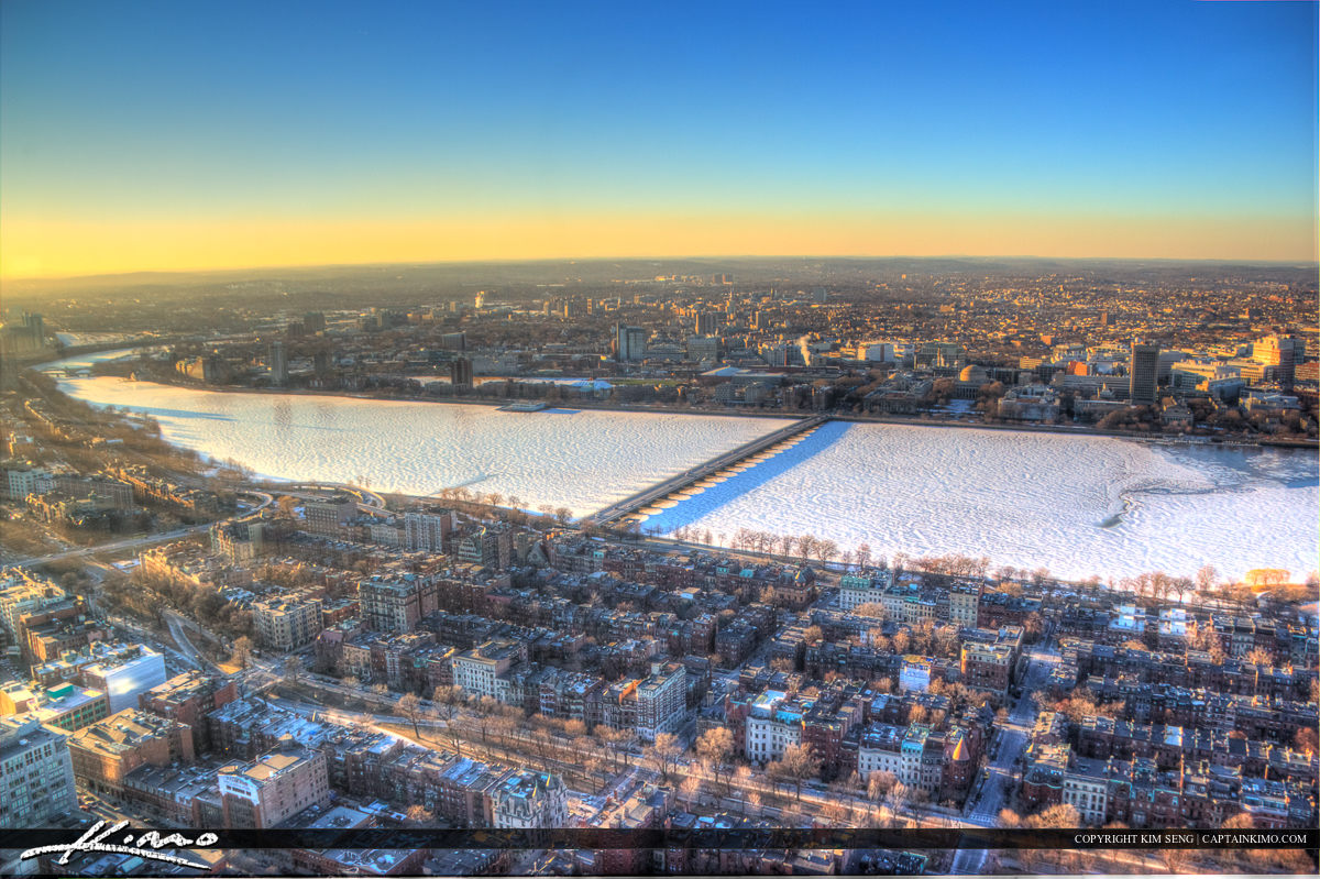 Boston Ariel Photo from the Prudential