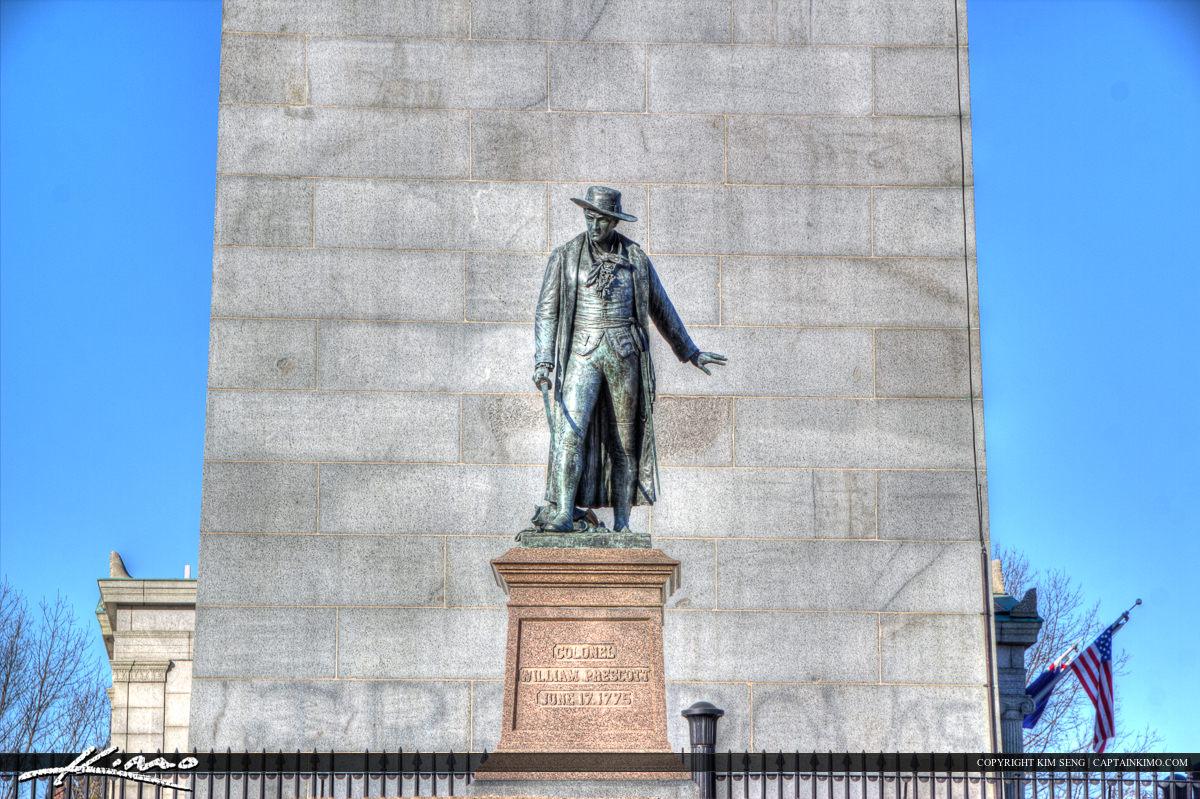 Boston Colonel William Prescott