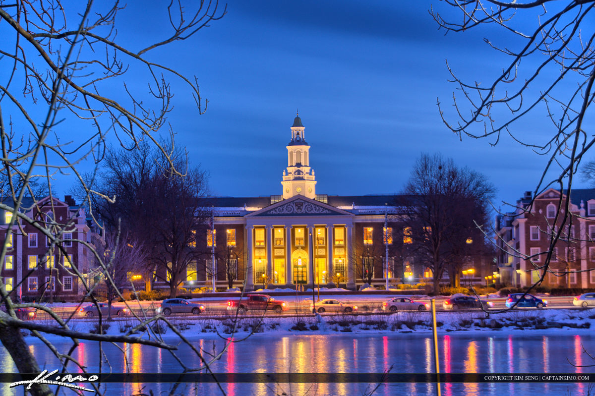 Harvard Square Cambridge Massachusetts Harvard Business School a
