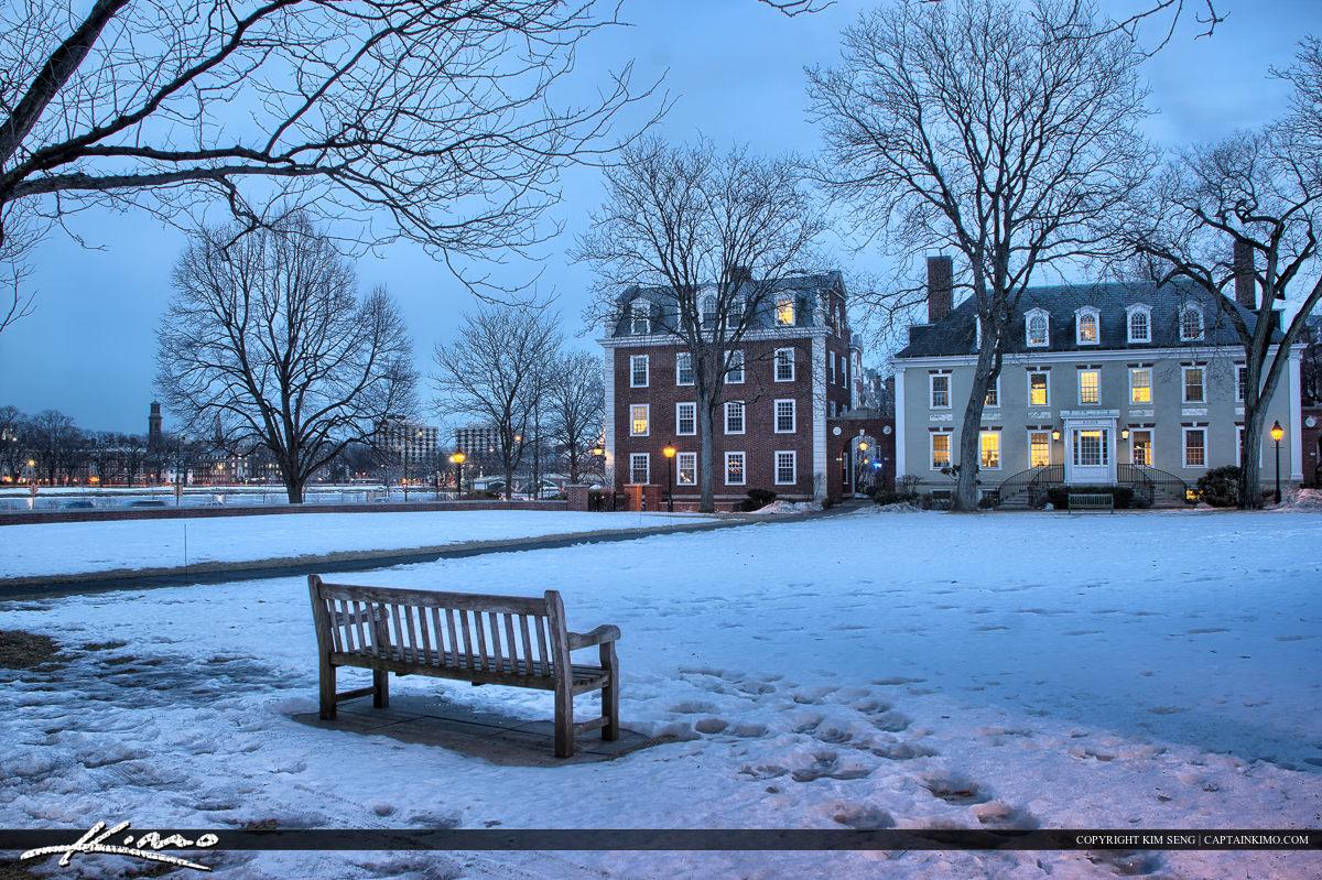 Harvard Square Cambridge Massachusetts Court Harvard Business Sc
