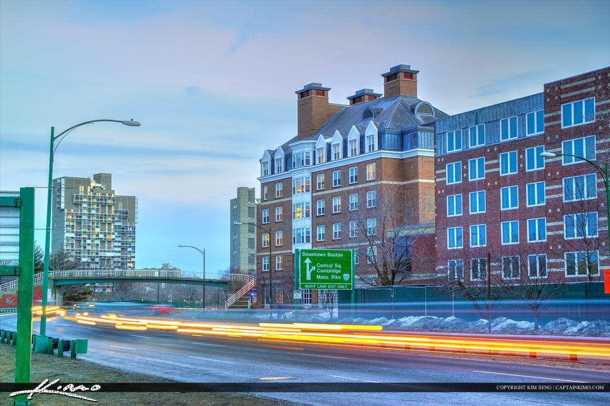 Harvard Square Cambridge Massachusetts Street
