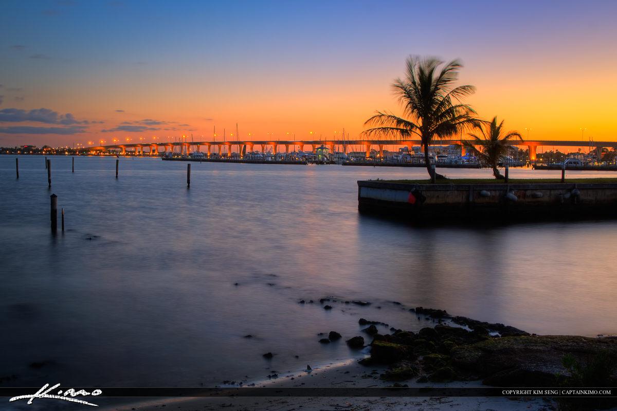 Stuart Martin County Florida Roosevelt Bridge St Lucie River