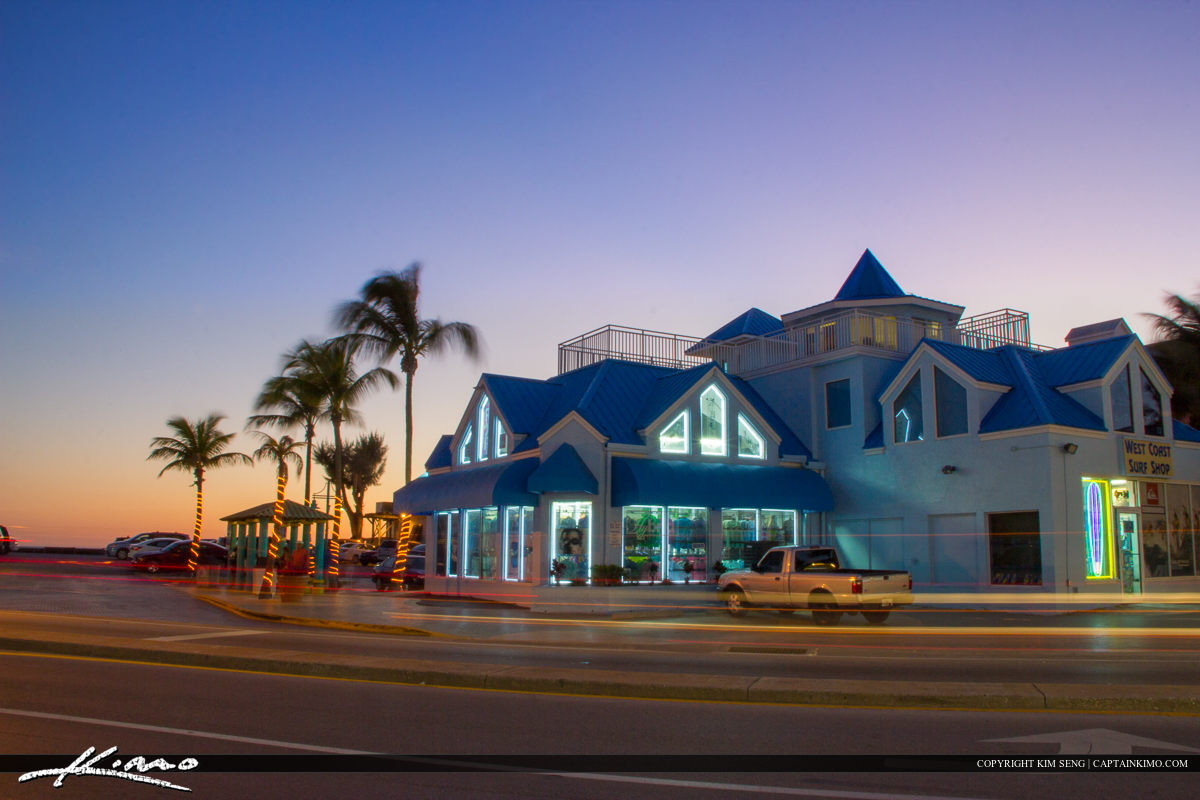 Fort Myers Beach Pier Florida Shopping Plaza