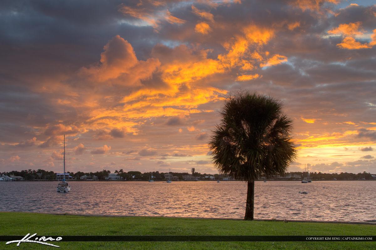North Palm Beach Sunrise at Lake