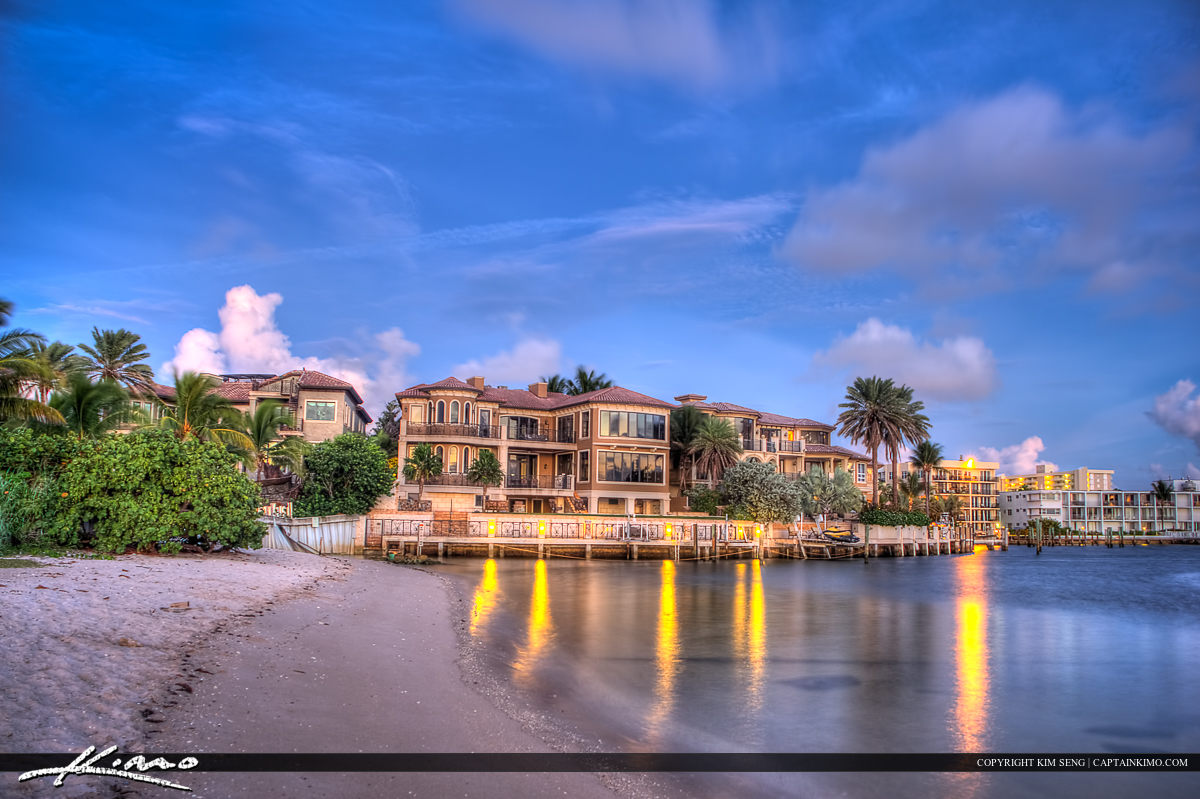 Waterfront Property at Pompano Beach Florida
