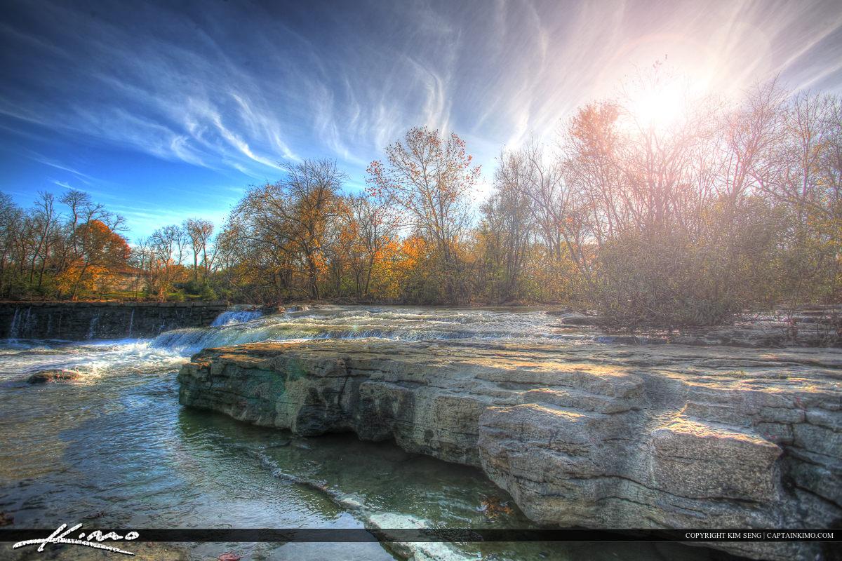 Stones River Murfreesboro Tennessee at the Dam