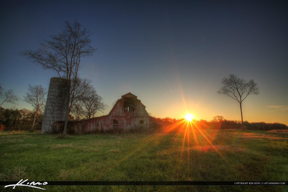 Murfreesboro Tennessee Old Barn at Farm