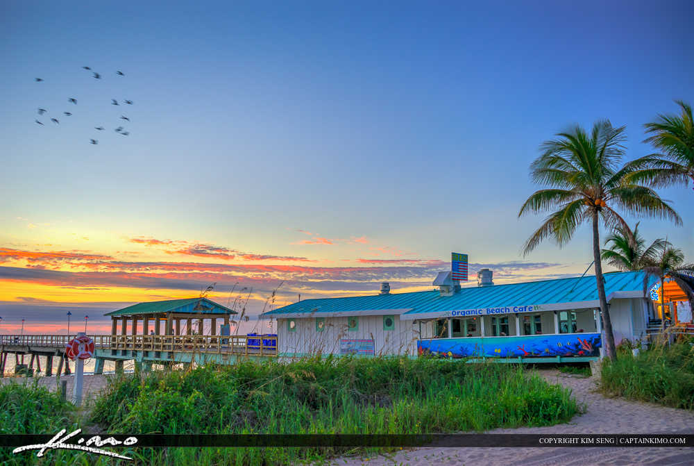 Lauderdale by the Sea Florida Organic Beach Cafe