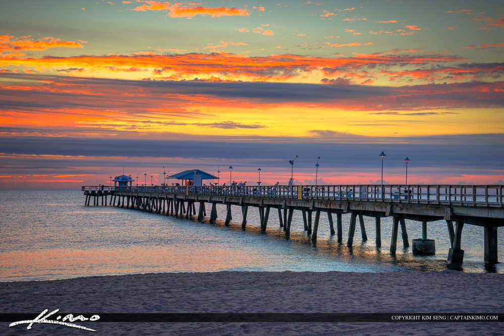 Lauderdale by the Sea Florida Anglins Fishing Pier