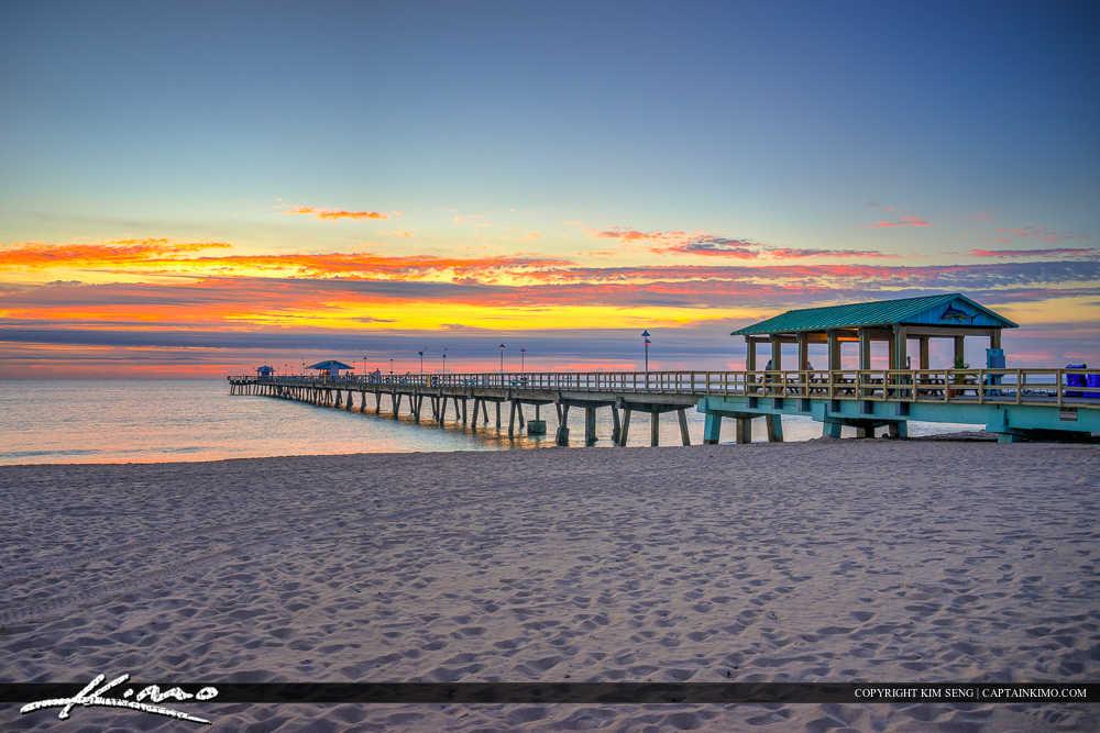 Lauderdale by the Sea Florida Sunrise Colors