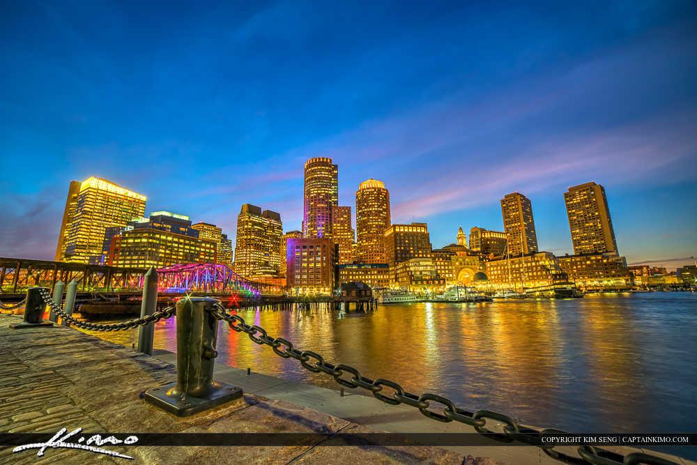 Boston Skyline from the Harborwalk