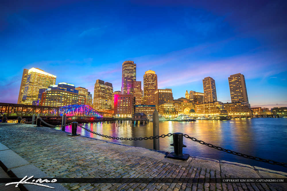 Boston Skyline Harborwalk