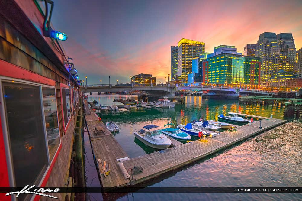The Barking Crab Marina Boston Massachusetts
