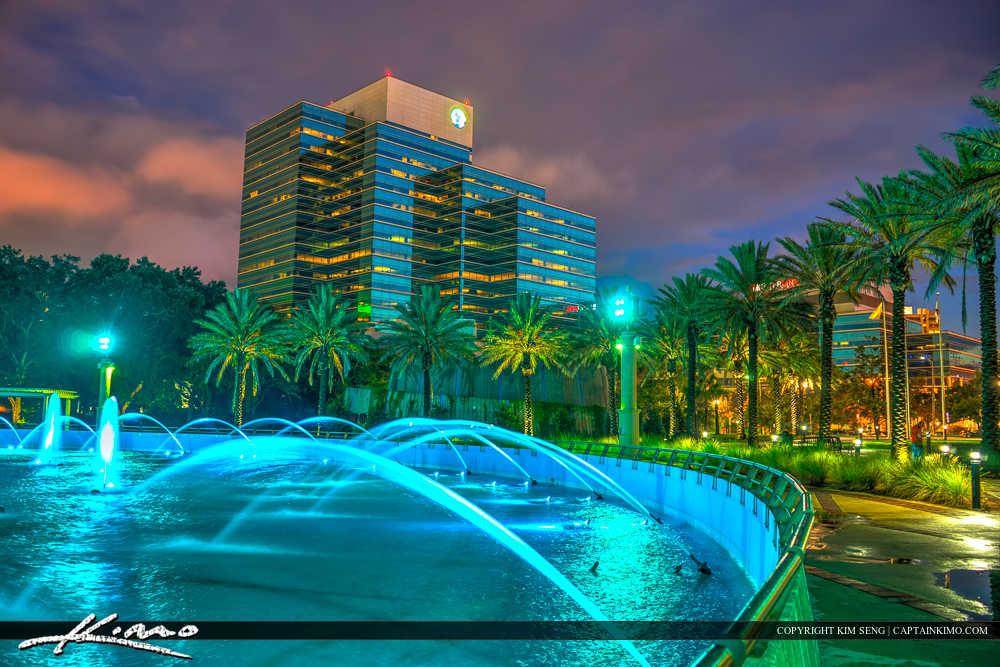 Jacksonville Florida Friendship Fountain Downtown