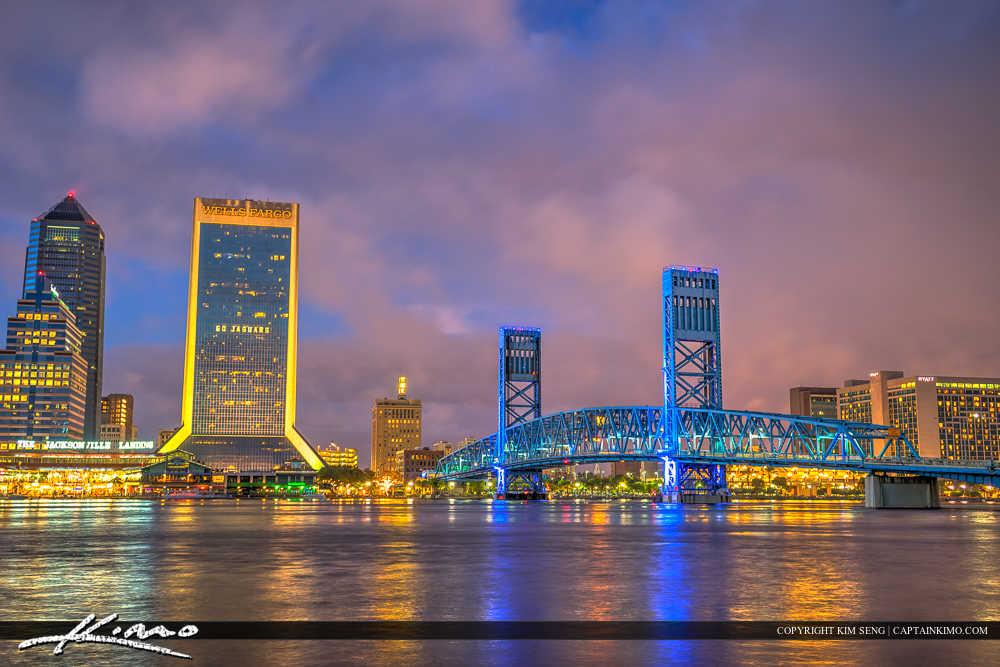 Jacksonville Florida Night Lights