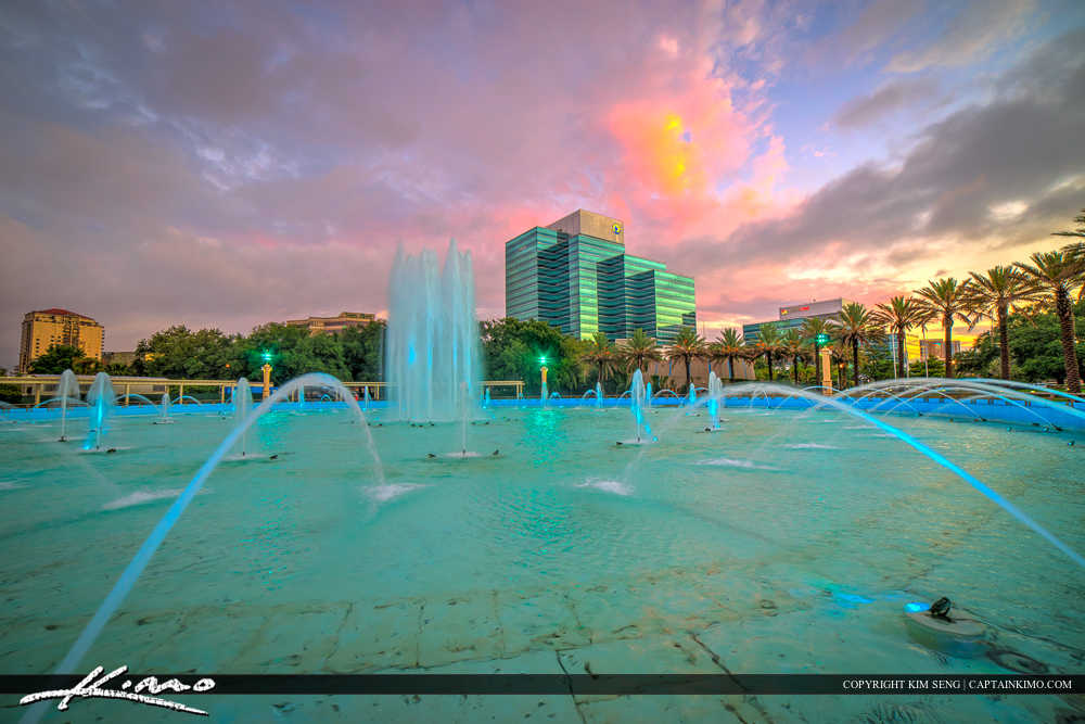 Jacksonville Skyline Florida Duval County Museum Building