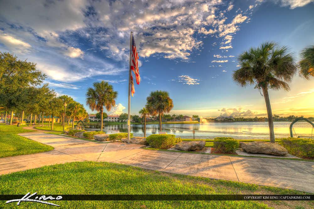 Royal Palm Beach Florida Lakeside Challenger Park