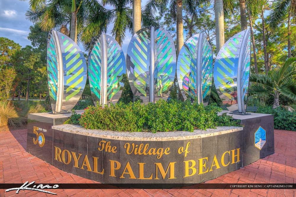 Royal Palm Beach Florida Sign Landmark