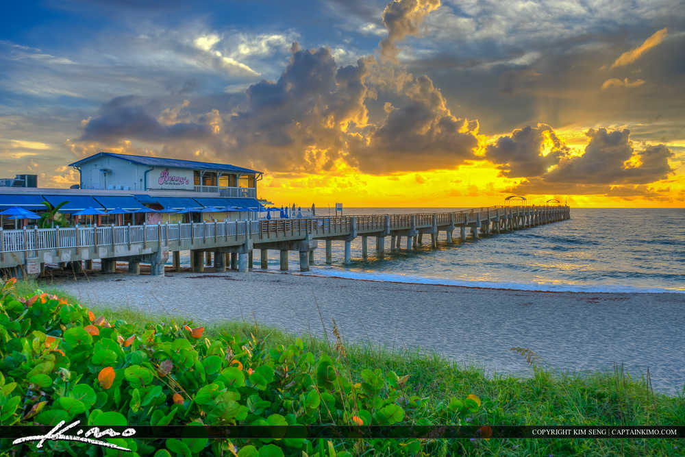 Lake Worth Beach Sunrise Benny's on the Beach