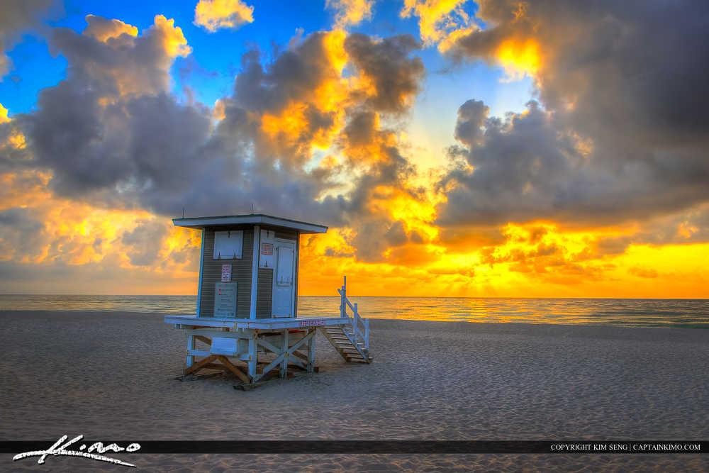 Beautiful Beach Sunrise Singer Island Florida