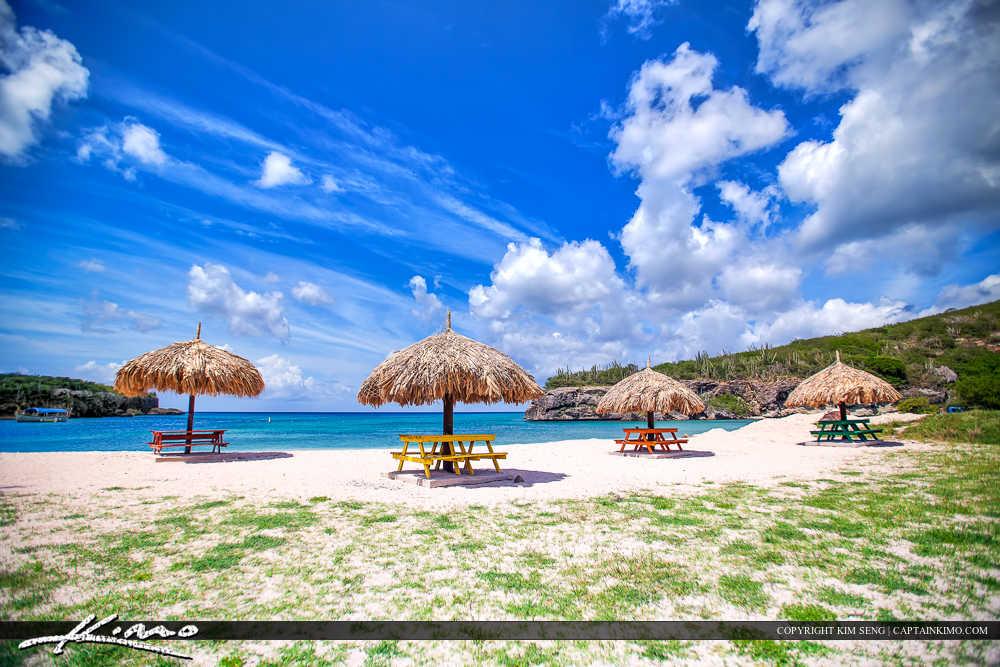 Paradise Caribbean Island Curacao Beach Gazebo