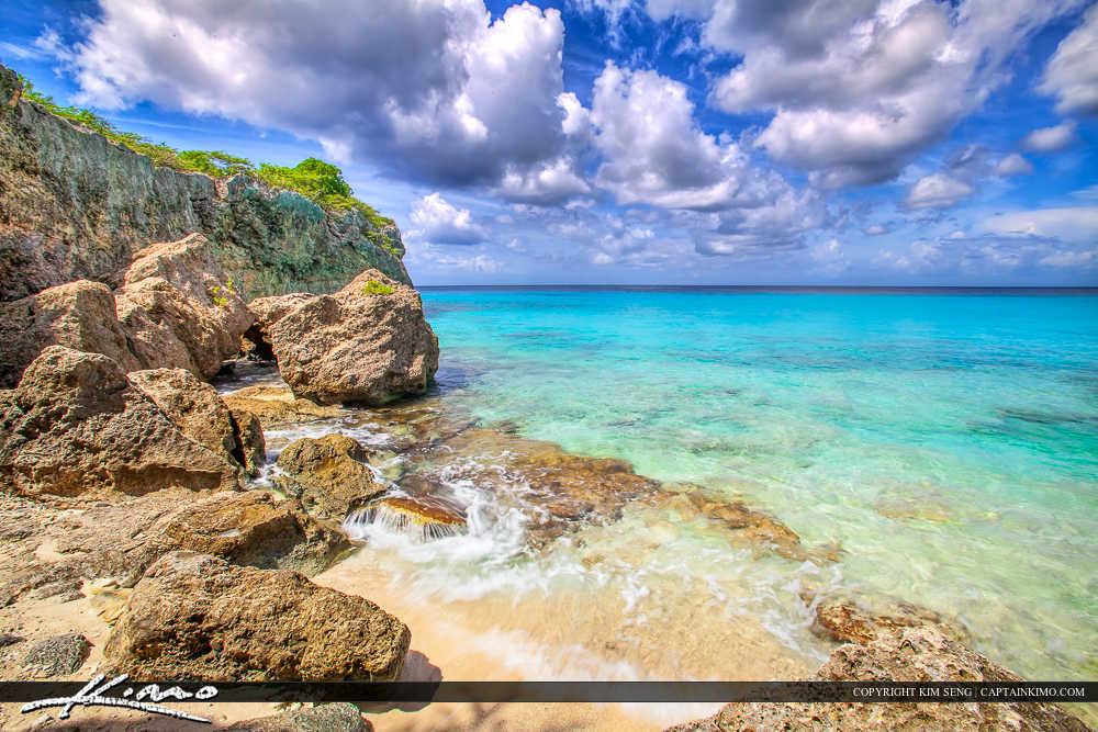 Paradise Caribbean Island Curacao Blue Ocean
