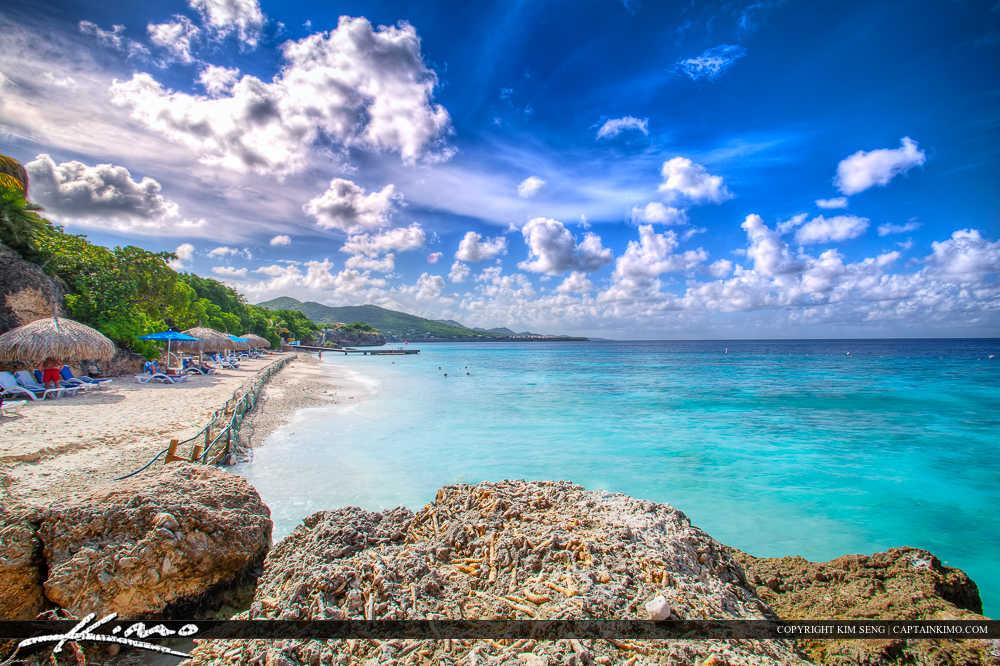 Paradise Caribbean Island Curacao Beautiful Beach
