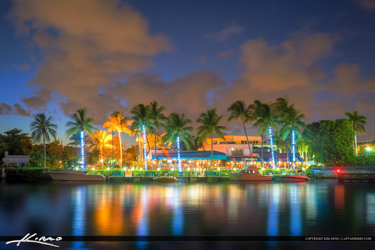 Delray Beach Waterway Night Life Restaurant