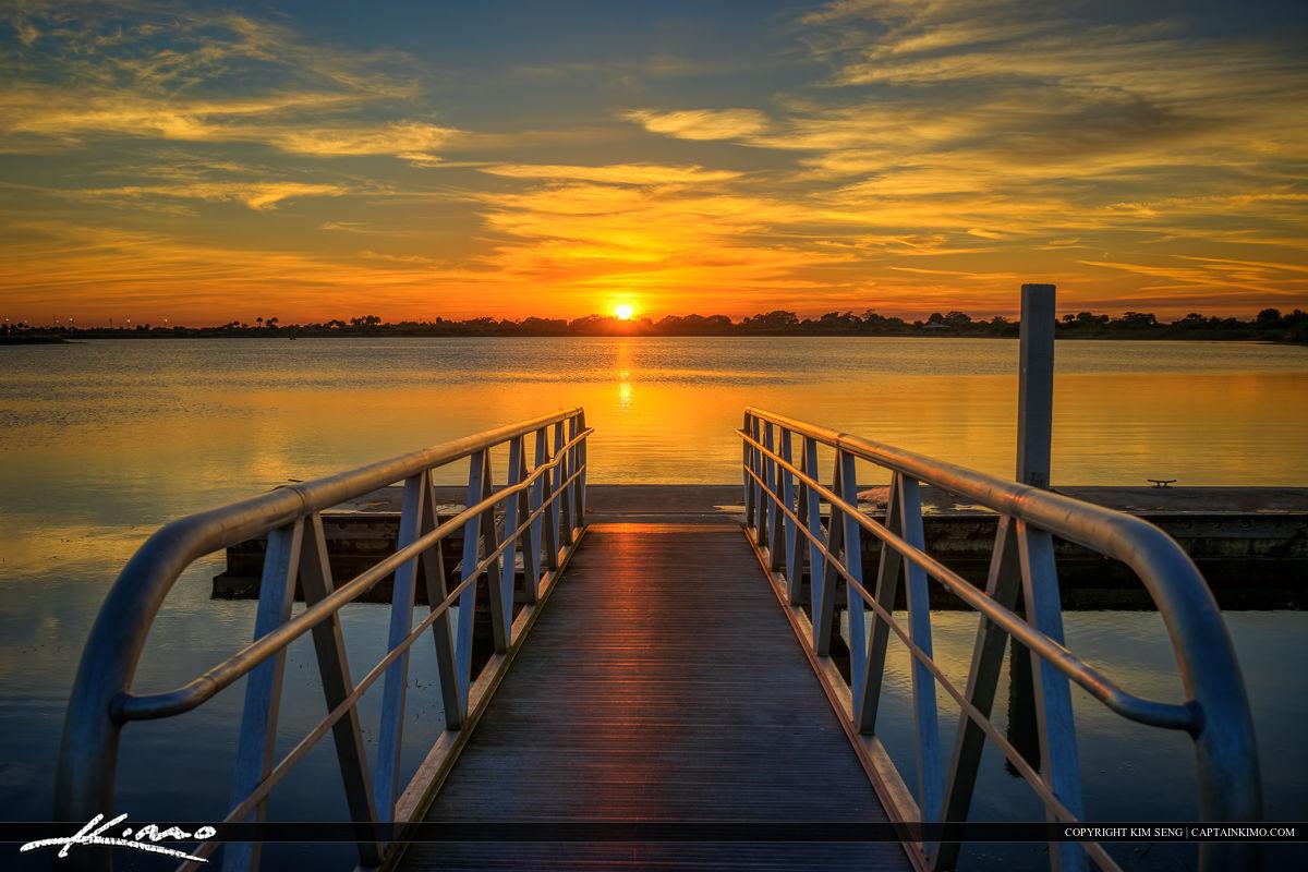 Boca Raton Sunset Lake South County Regional Park