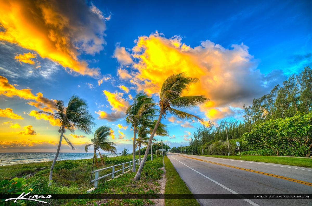 Spanish River Park Ocean Blvd A1A Boca Raton Florida