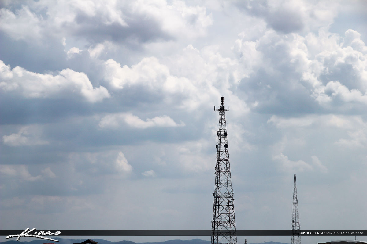 Telecommunications Radio Tower for Mobile Phone