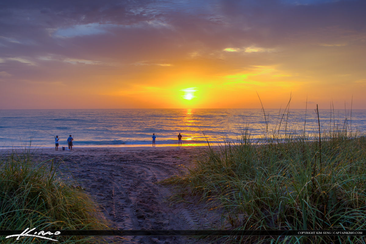 Hobe Sound Beach Sunrise Martin County