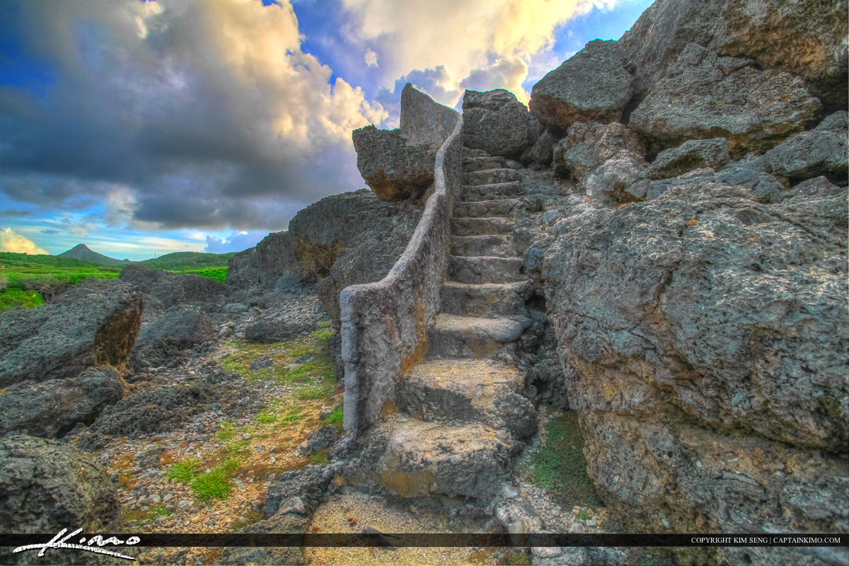 Curacao Travel Caribbean Islands Stairs to Heaven