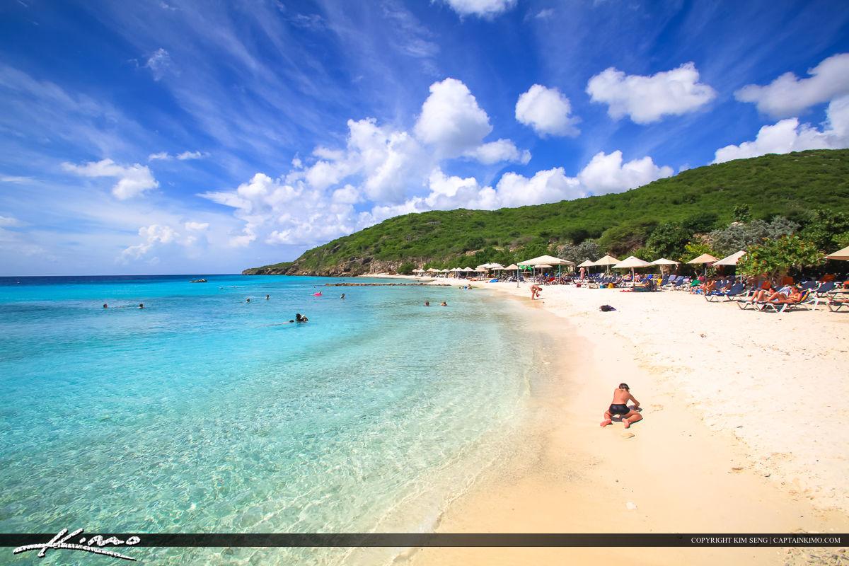 Curacao Travel Caribbean Islands Tourist at Beach