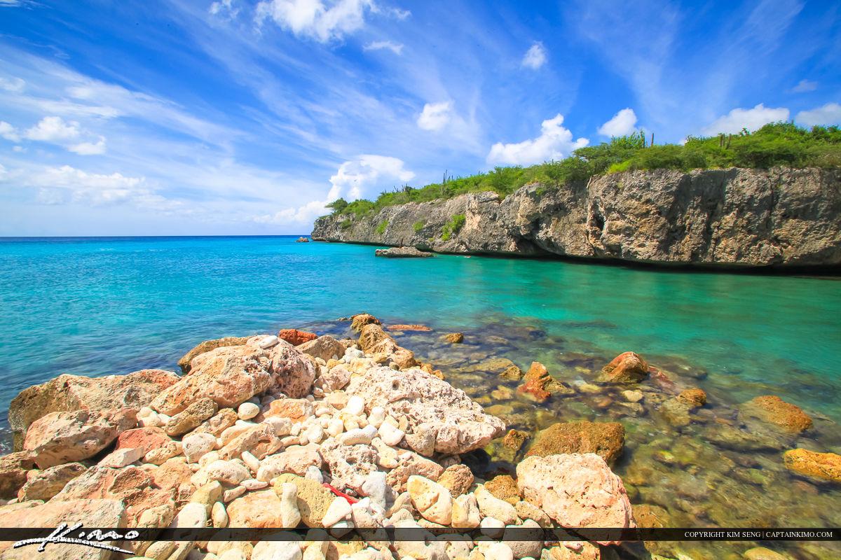 Curacao Travel Caribbean Islands Rocks along Cliff